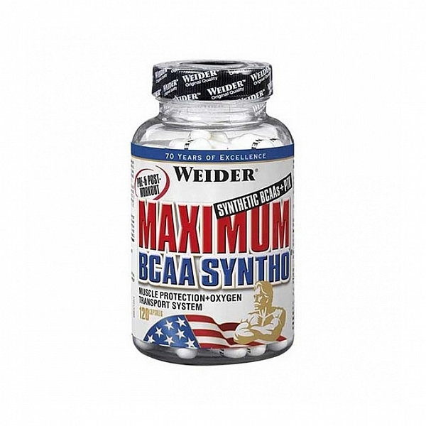 Weider Maximum BCAA Syntho, 120 kps