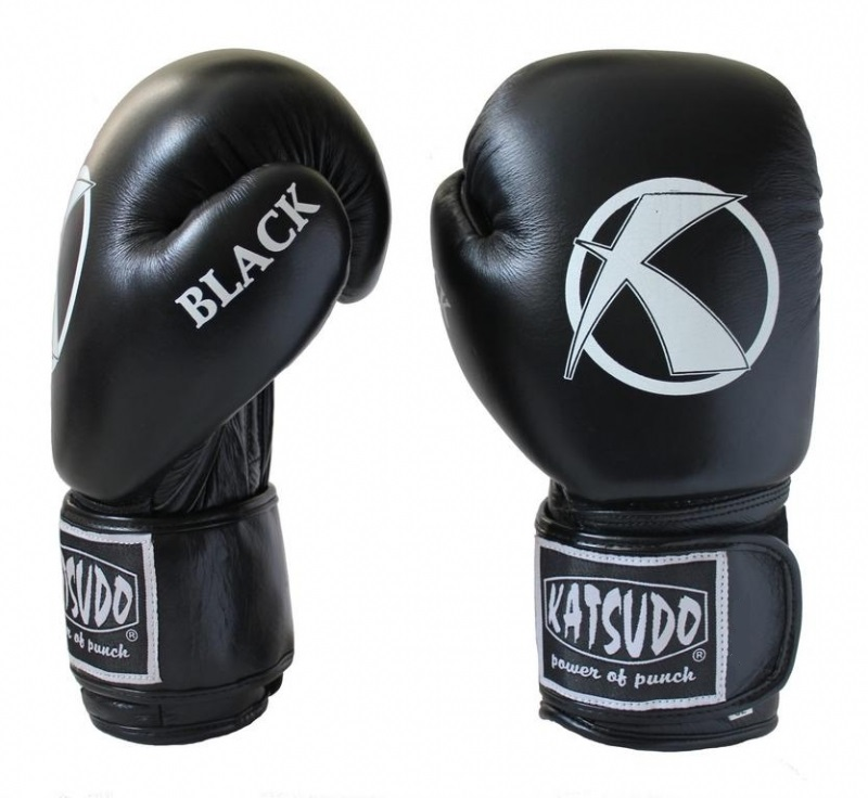 Box rukavice Katsudo POWER BLACK