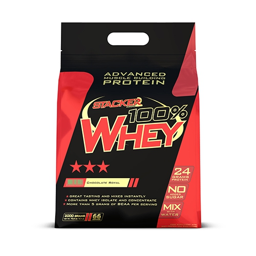 STACKER2 100% Whey protein 454g