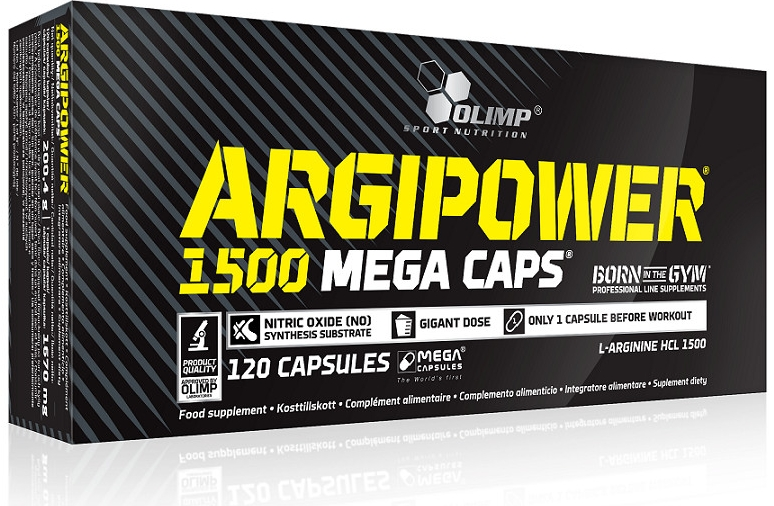 Olimp Argi Power 1500 mega caps 120 tabliet