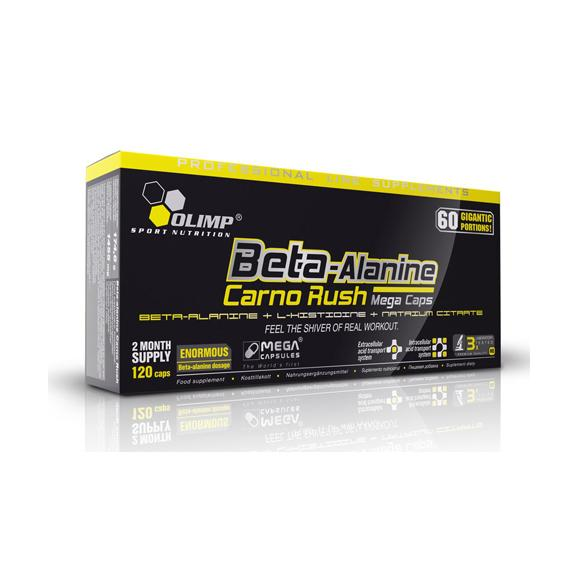 OLIMP Beta Alanine Carno Rush, 120tbl